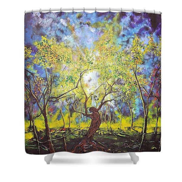 Wekiva Lady Shower Curtain
