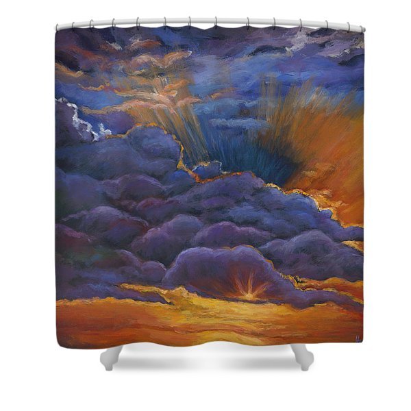 Welcome The Night Shower Curtain