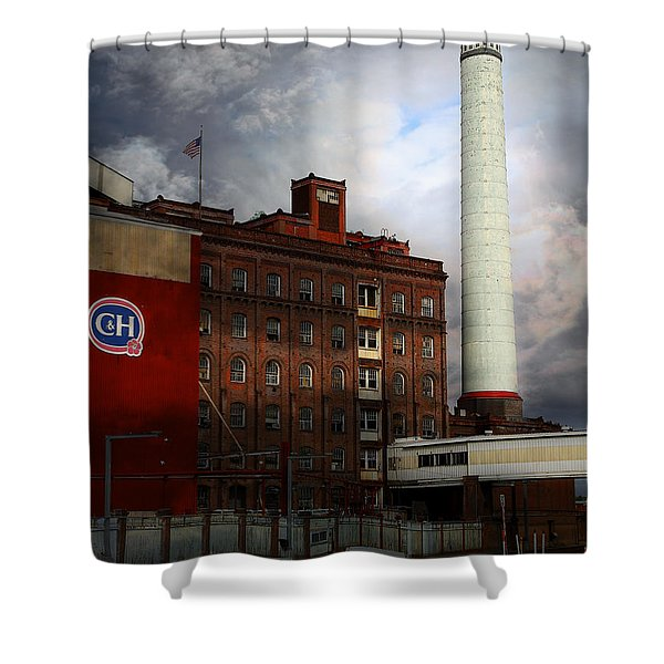 Welcome To Crockett California Blue Collar Usa . 7d8862 Shower Curtain by Wingsdomain Art and Photography