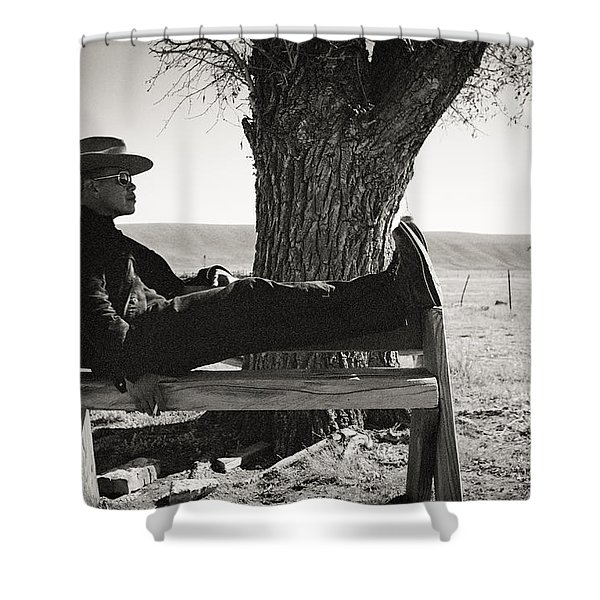 Welcome To Flavor Country Shower Curtain