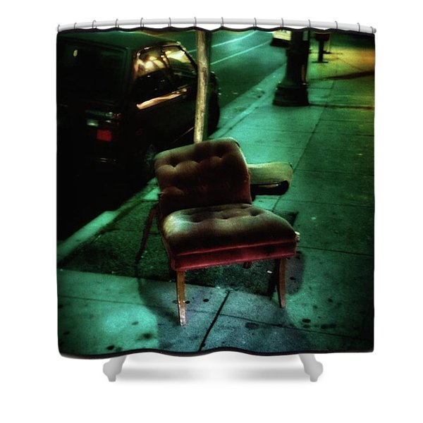 Shower Curtain featuring the photograph Welcome To My Living Room, Pull Up A by Mr Photojimsf