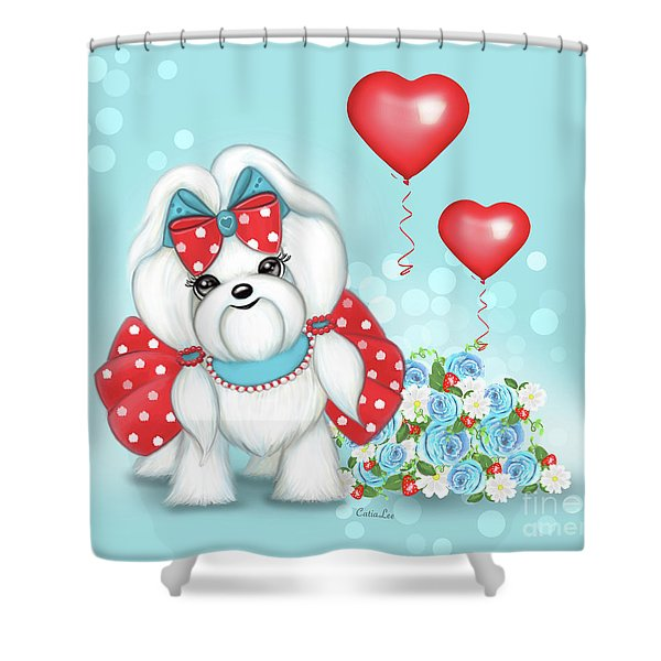 Welcome With Love  Shower Curtain