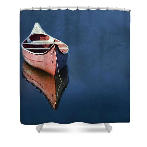 Well Anchored Shower Curtain
