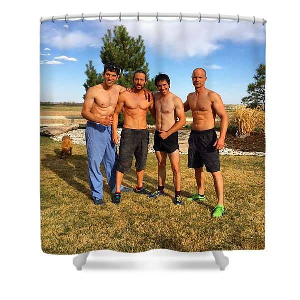 Wolfpack Brothers Shower Curtain