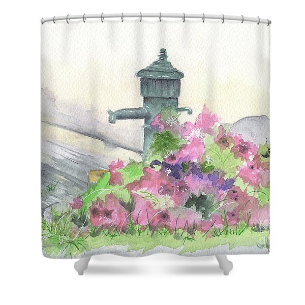 Wells And Waterspouts #7 Shower Curtain