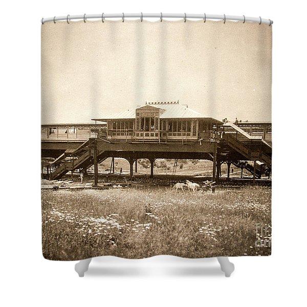 West 207th Street, 1906 Shower Curtain