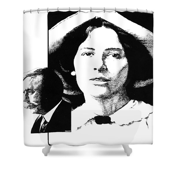 West And Wells Shower Curtain