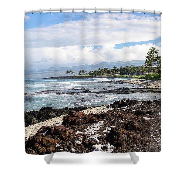 West Coast North Shower Curtain