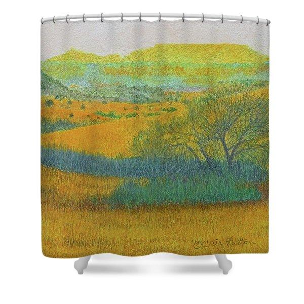 West Dakota Reverie Shower Curtain