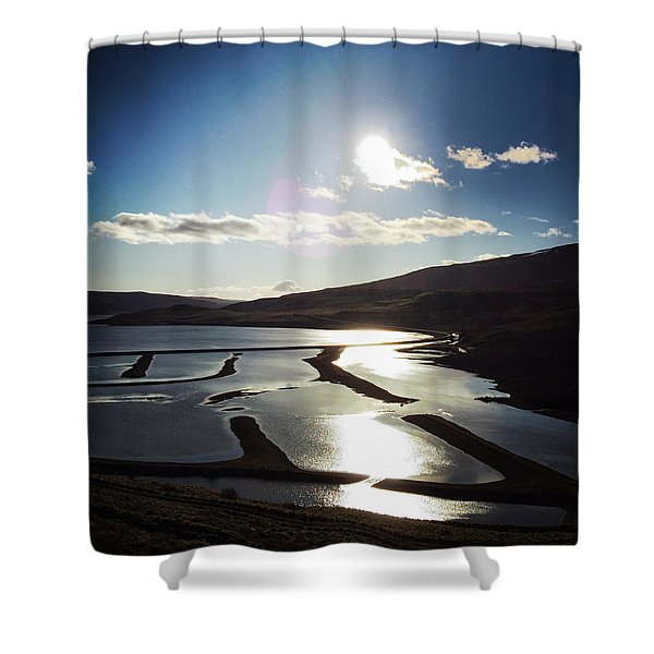 West Fjords Iceland Europe Shower Curtain