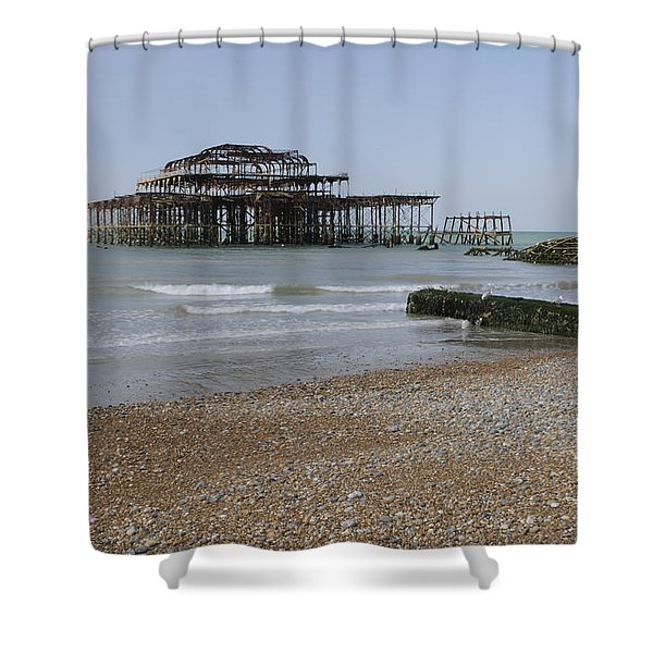 West Pier Shower Curtain