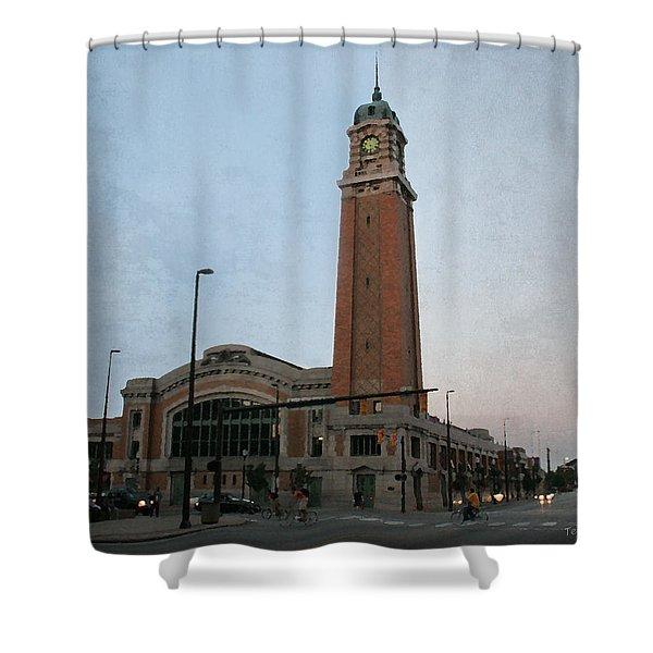 West Side Market Shower Curtain
