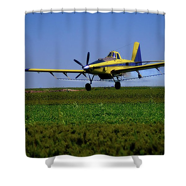 West Texas Air Force 2 Shower Curtain
