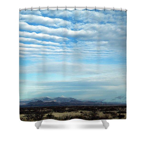 West Texas Skyline #2 Shower Curtain