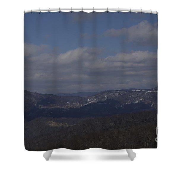 West Virginia Waiting Shower Curtain