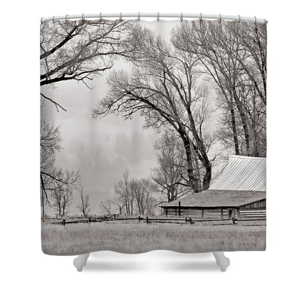 Western Heritage Shower Curtain