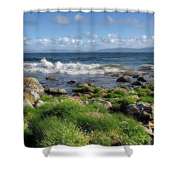 Western View Shower Curtain