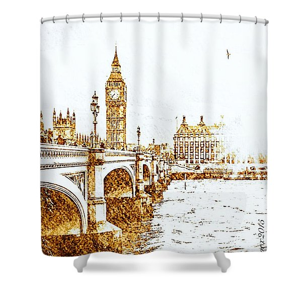 Westminster Shines Once Again Shower Curtain