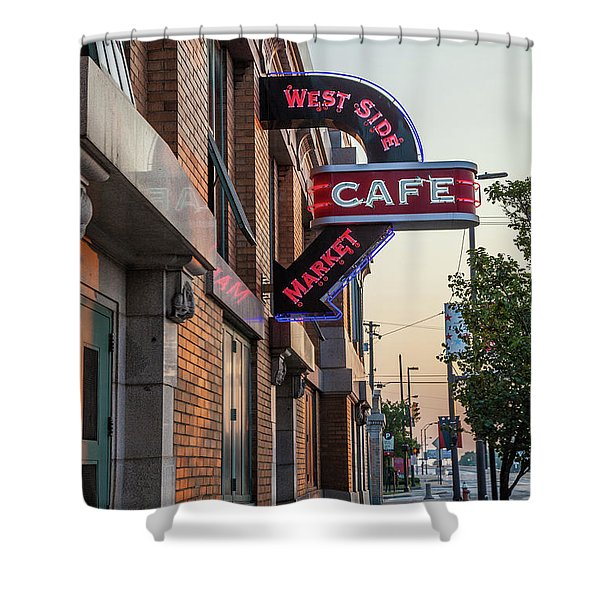 Westsidemarketcafe Shower Curtain
