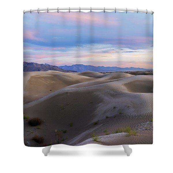 Wet Dunes Shower Curtain