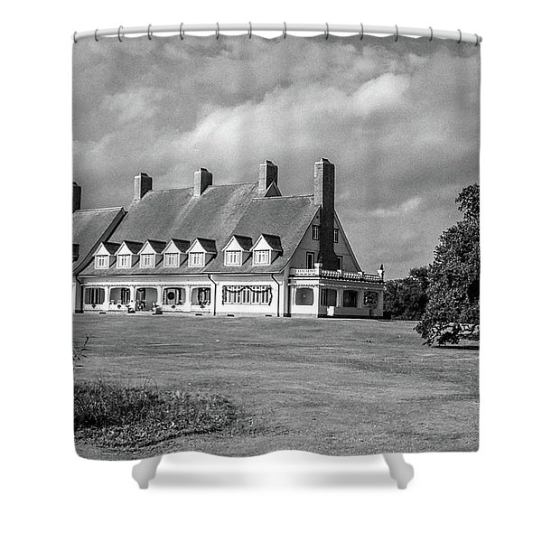 Whalehead Club Shower Curtain