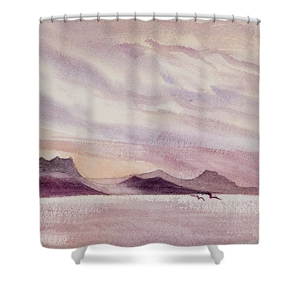 Whangarei Heads At Sunrise, New Zealand Shower Curtain