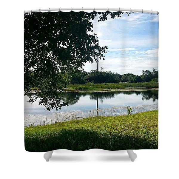 Hot And Steamy Afternoon Shower Curtain