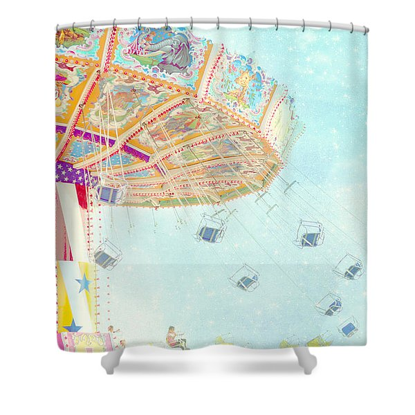What A Ride Shower Curtain