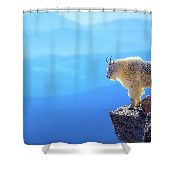 Shower Curtain featuring the photograph What A View by John De Bord