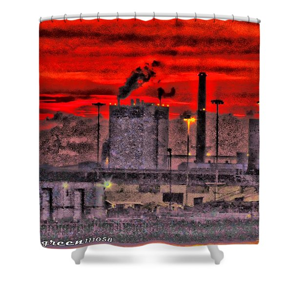 Port Of Savannah Shower Curtain