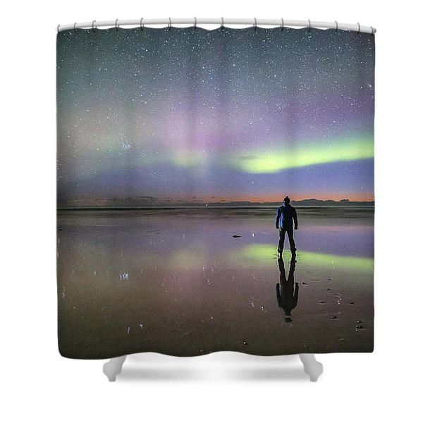 What Is Up And Down? Shower Curtain