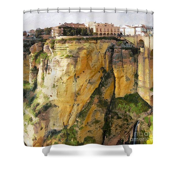 What Place Is This Shower Curtain