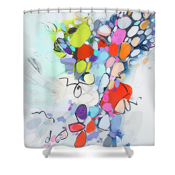 What Time Is It? Shower Curtain