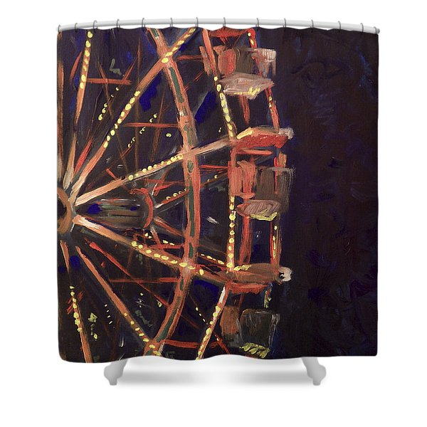 Wheel Shower Curtain