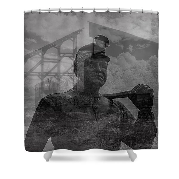 When Coal Was King II Shower Curtain