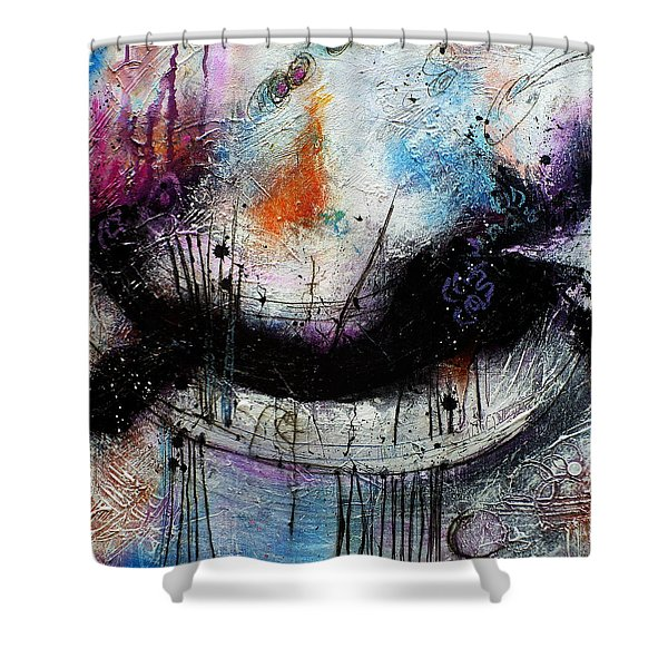 When Days Go By Shower Curtain