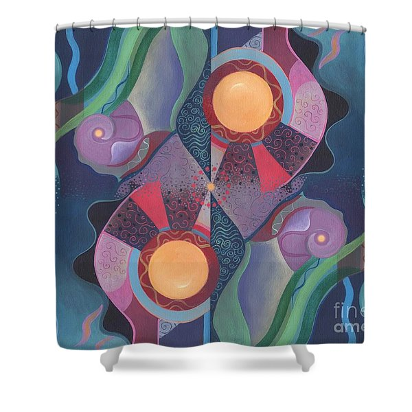 When Deep And Flow Met Shower Curtain