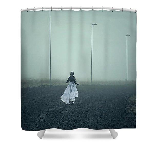When My Heart Felt Volcanic Shower Curtain
