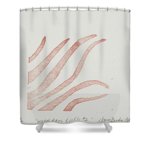 When Rats Ruled #2 Shower Curtain