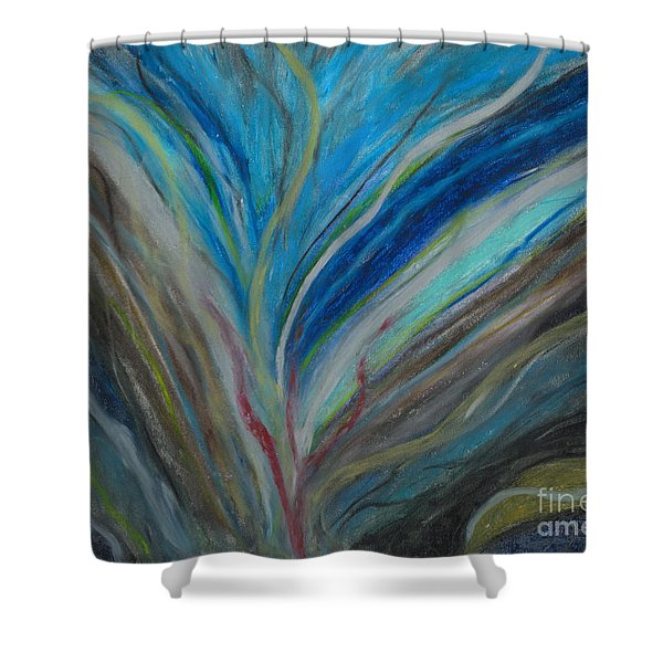 When The Feelings Are Gone Shower Curtain