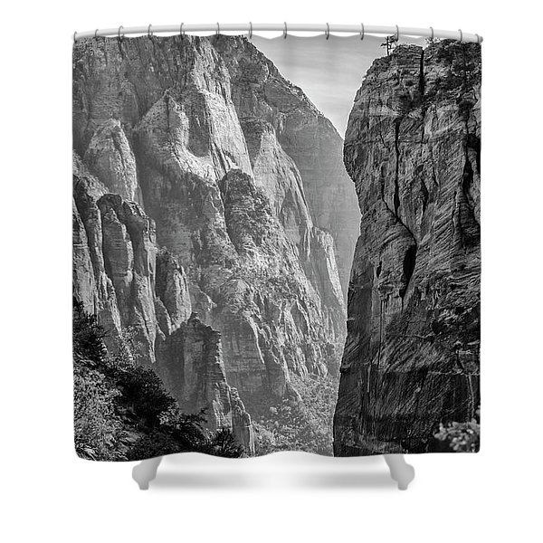 Where Angels Land Shower Curtain