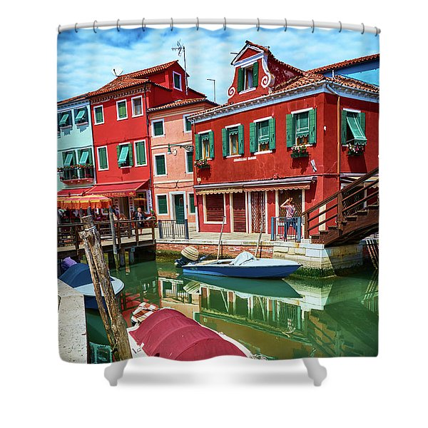 Where Did You Park The Boat? Shower Curtain