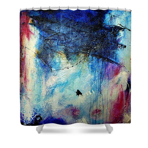 Where Does The Time Go Shower Curtain