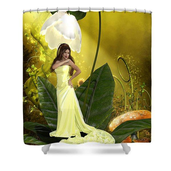 Where Fairies Live Shower Curtain
