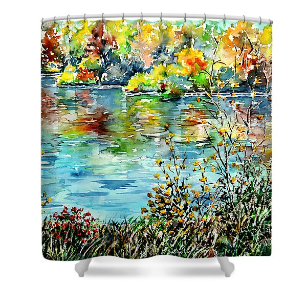 Where My Soul Keeps Wandering Shower Curtain