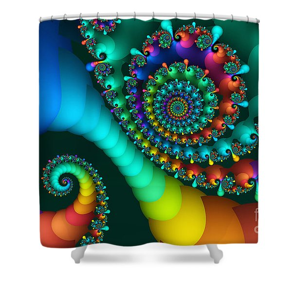 Where Rainbows Are Made Shower Curtain