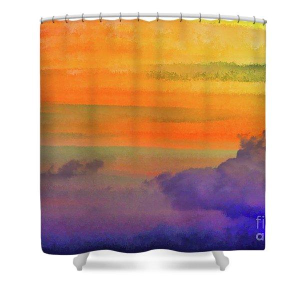 Where Rainbows Begin Shower Curtain