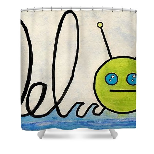 Where The Turf Meets The Surf Shower Curtain