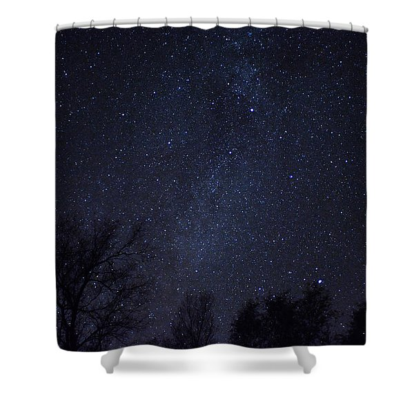 Where The Wind And The Coyotes Howl Shower Curtain