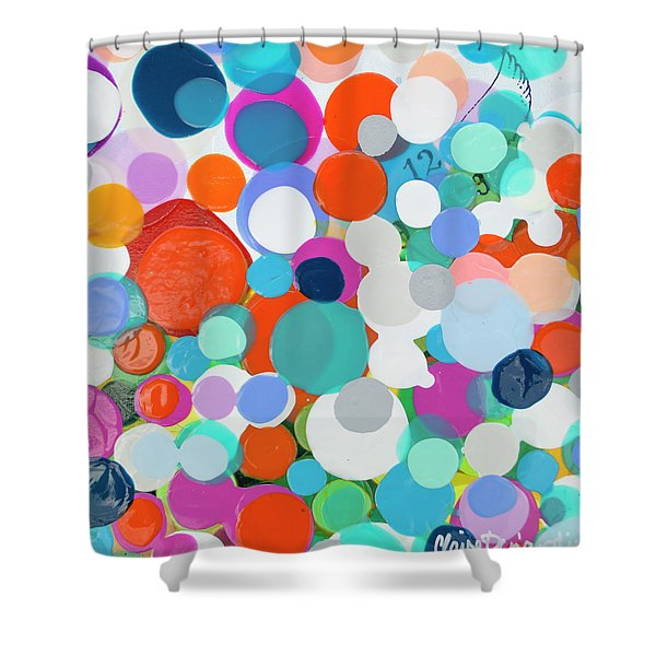 Where Time Hides Shower Curtain